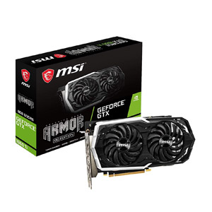 MSI GTX 1660 Ti Armor OC - Carte graphique configuration PC Gamer 1000€