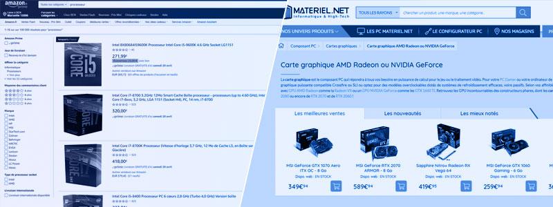 Où acheter ses composants informatique pour monter un PC Gamer ?
