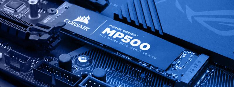 Un disque SSD au format M2 - Idéal pour un PC gamer rapide et fluide